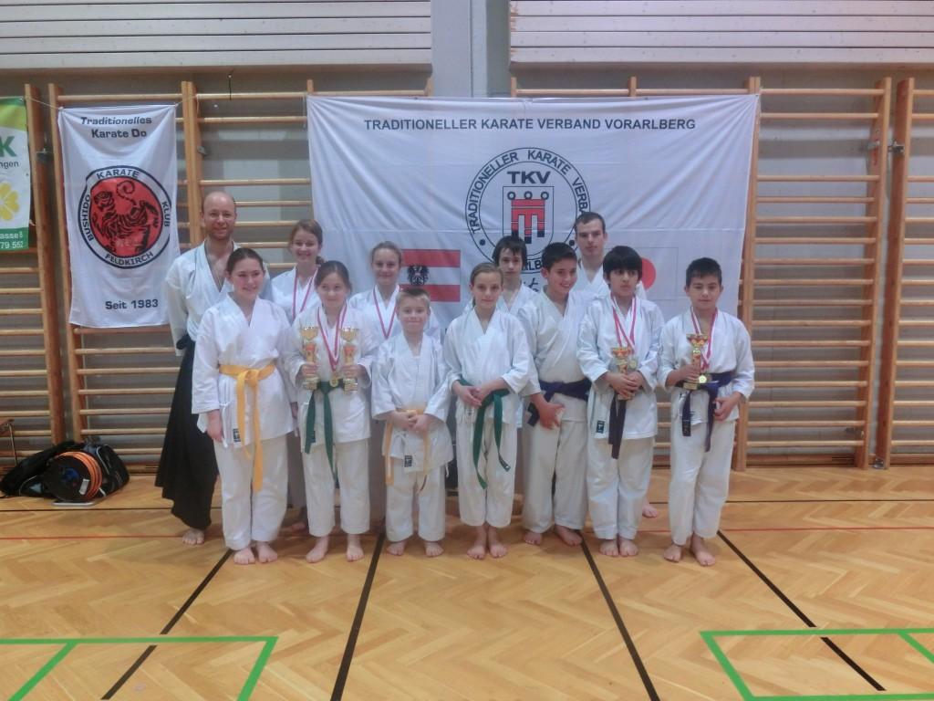 Sieger aus Feldkirch Landesmeisterschaft 2012